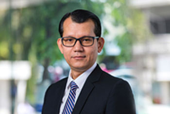 Mr. LIM Aun, the new candidate of Chief Executive Officer (CEO) of Sathapana Bank
